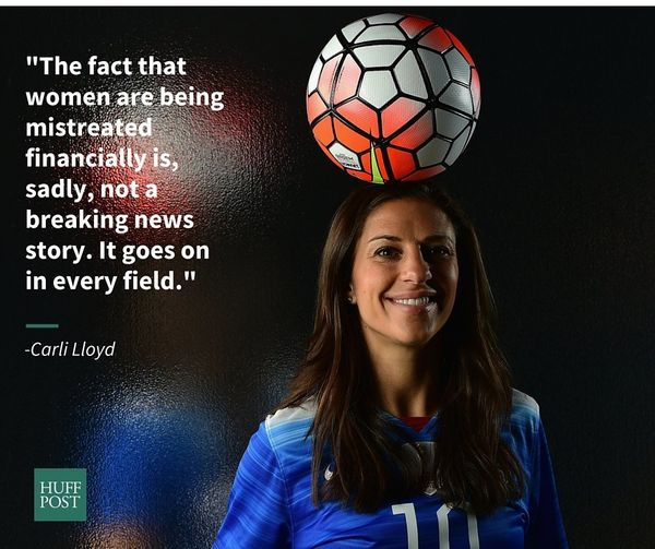 "In April, star midfielder of&nbsp;the U.S.&nbsp;Women's National Soccer&nbsp;team <a href=""https://www.huffpost.com/entry/car"