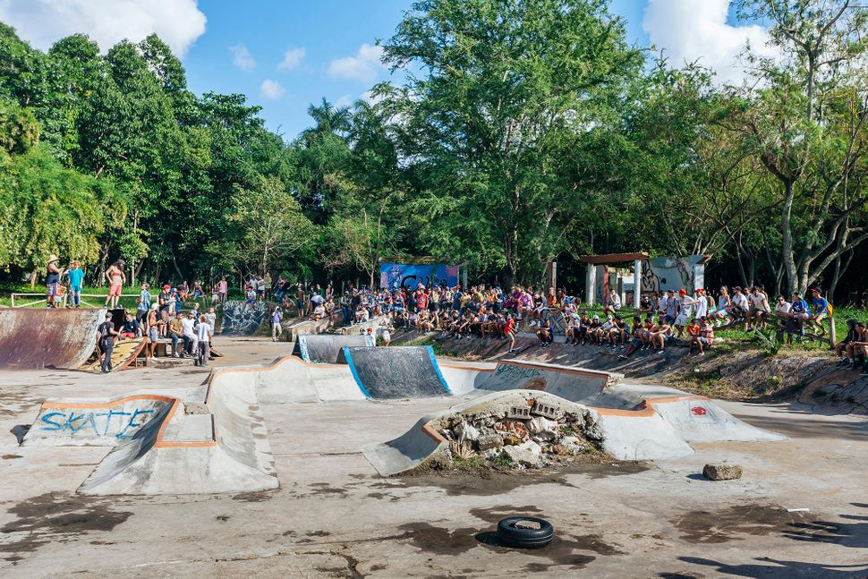 "Many people gathered for a&nbsp;skate competition. (All Photos are Copyright of&nbsp;<a href=""https://www.instagram.com/emmy_"