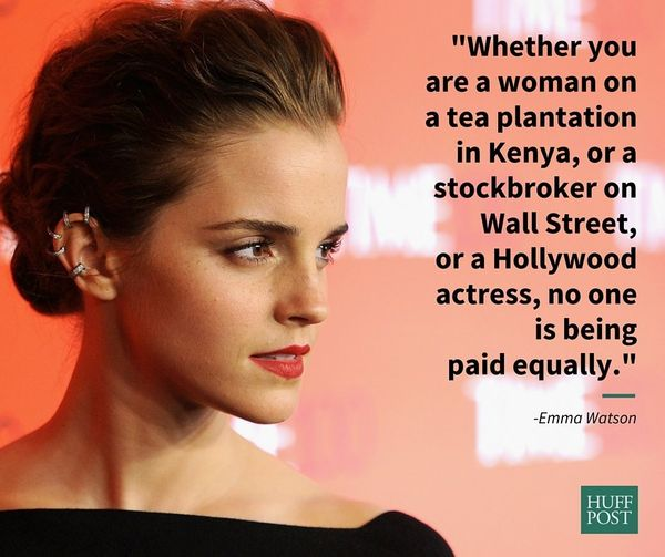 "In a March 2016 interview with Esquire, <a href=""https://www.huffpost.com/entry/feel-free-to-call-emma-watson-a-feminazi_n_56"