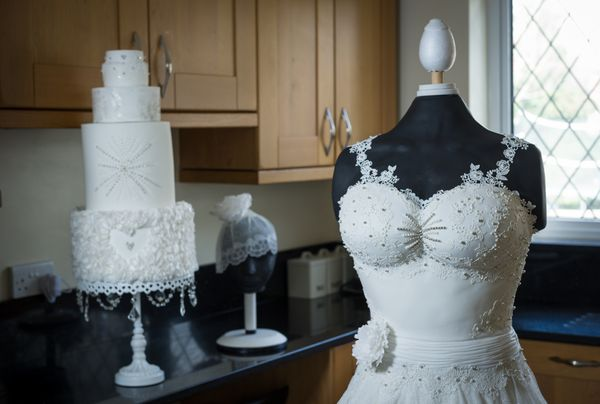 Epic Edible Wedding Dress Is Made Entirely Of Cake