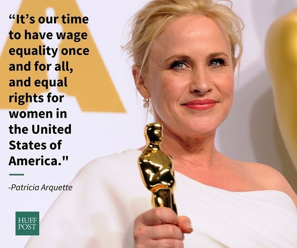 "In her <a href=""https://www.huffpost.com/entry/patricia-arquette-best-supporting-actress_n_6715610"">now-iconic acceptance spe"