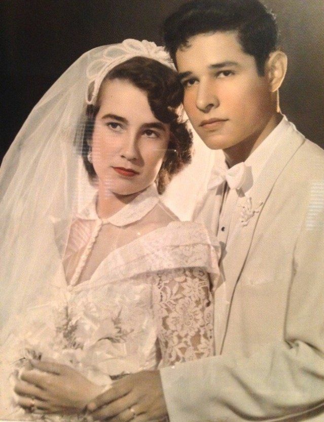 Rachel and Fidel Barron have been married for 63 years.