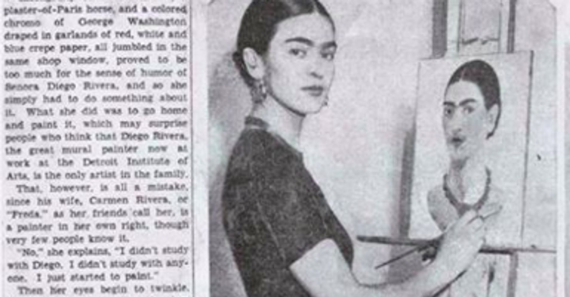 This Sexist 1930s Article About Frida Kahlo, AKA Senora