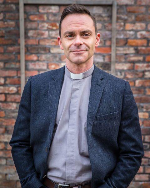 Daniel Brocklebank as Vicar