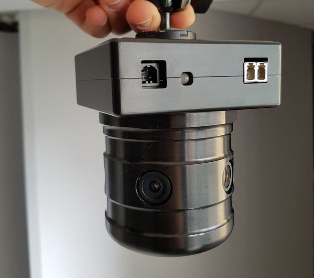 This 360-degree camera by Mativision will capture the entire procedure in virtual