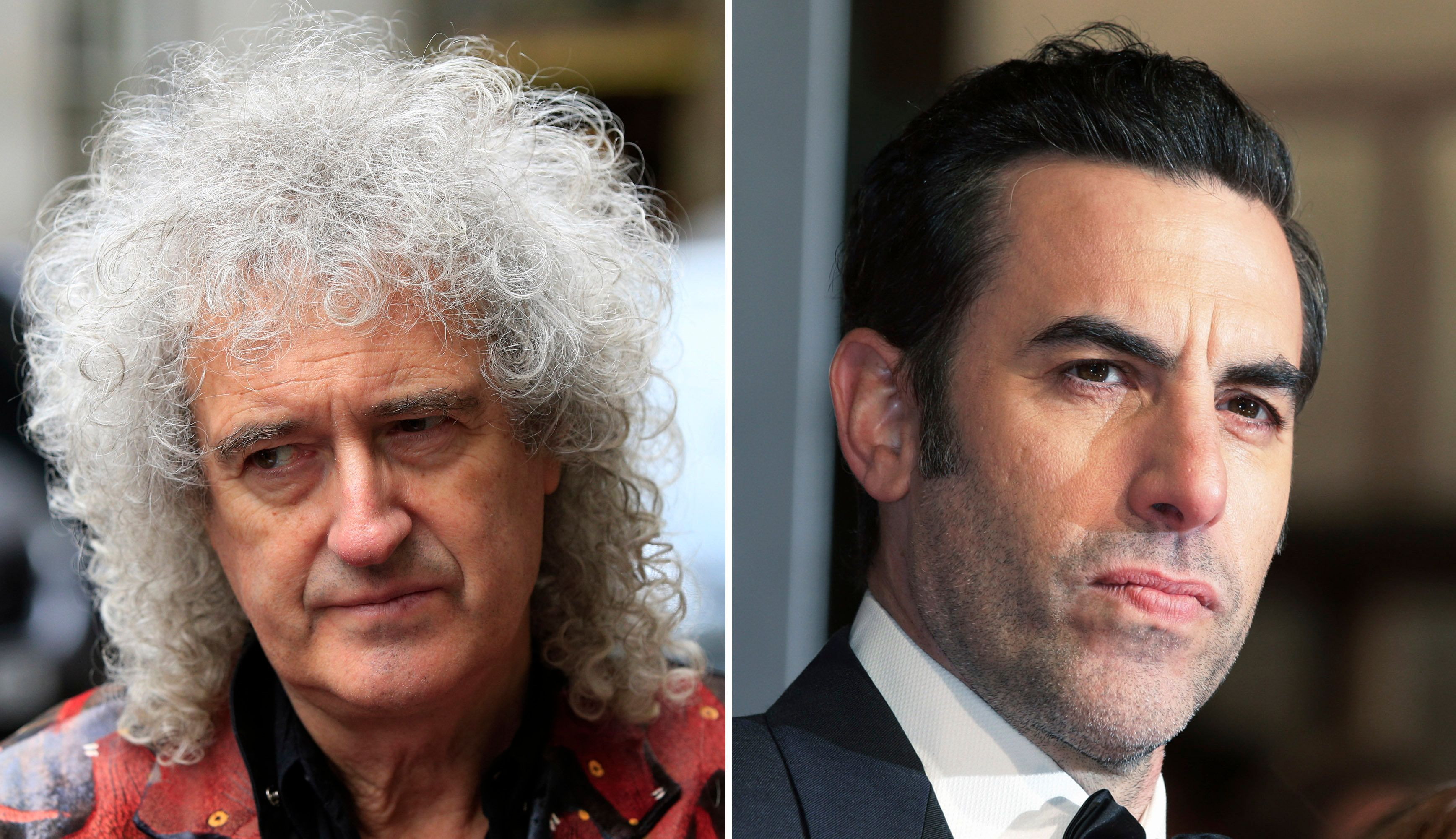 Brian May Hits Out At Sacha Baron Cohen Over Queen Biopic