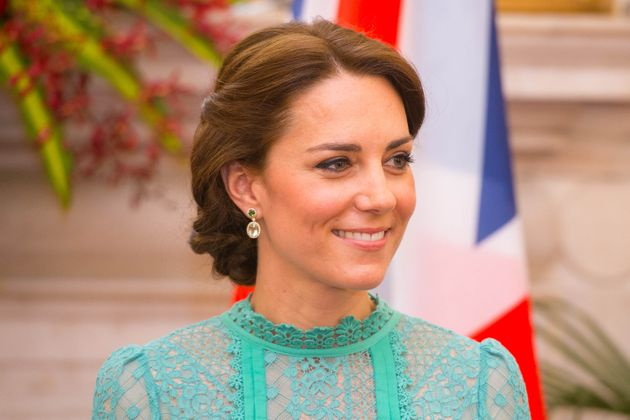 Duchess Kate Wore A $72 Dress To Sit On The Floor And Color In