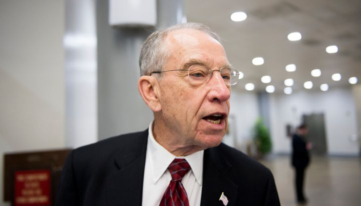 Sen. Chuck Grassley will probably not be ordering an Article 2 Iced Toddy anytime soon.