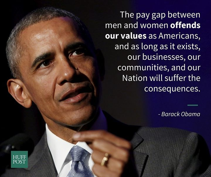 President Barack Obama proclaimedApril 12, 2016, as National Equal Pay Day.