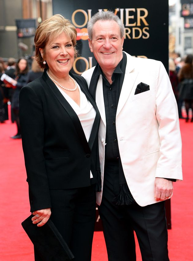 Michael Pattemore pictured with late wife Lynda