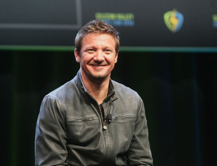 Actor Jeremy Renner participates in Q&A discussion with attendees during the Silicon Valley Comic Con 2016 at San Jose Co