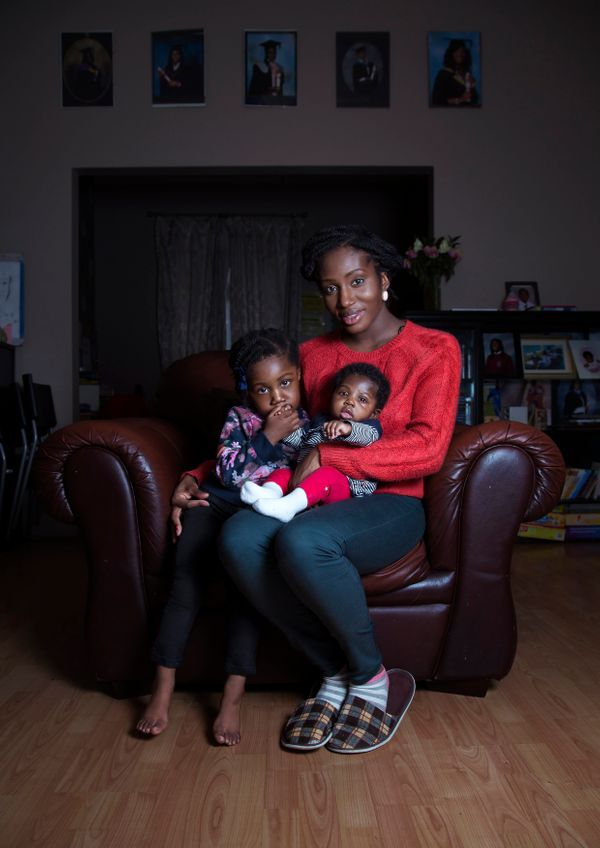 """When I became pregnant I didn't know anything about any government support. Even until after I had Ella, I didn'"