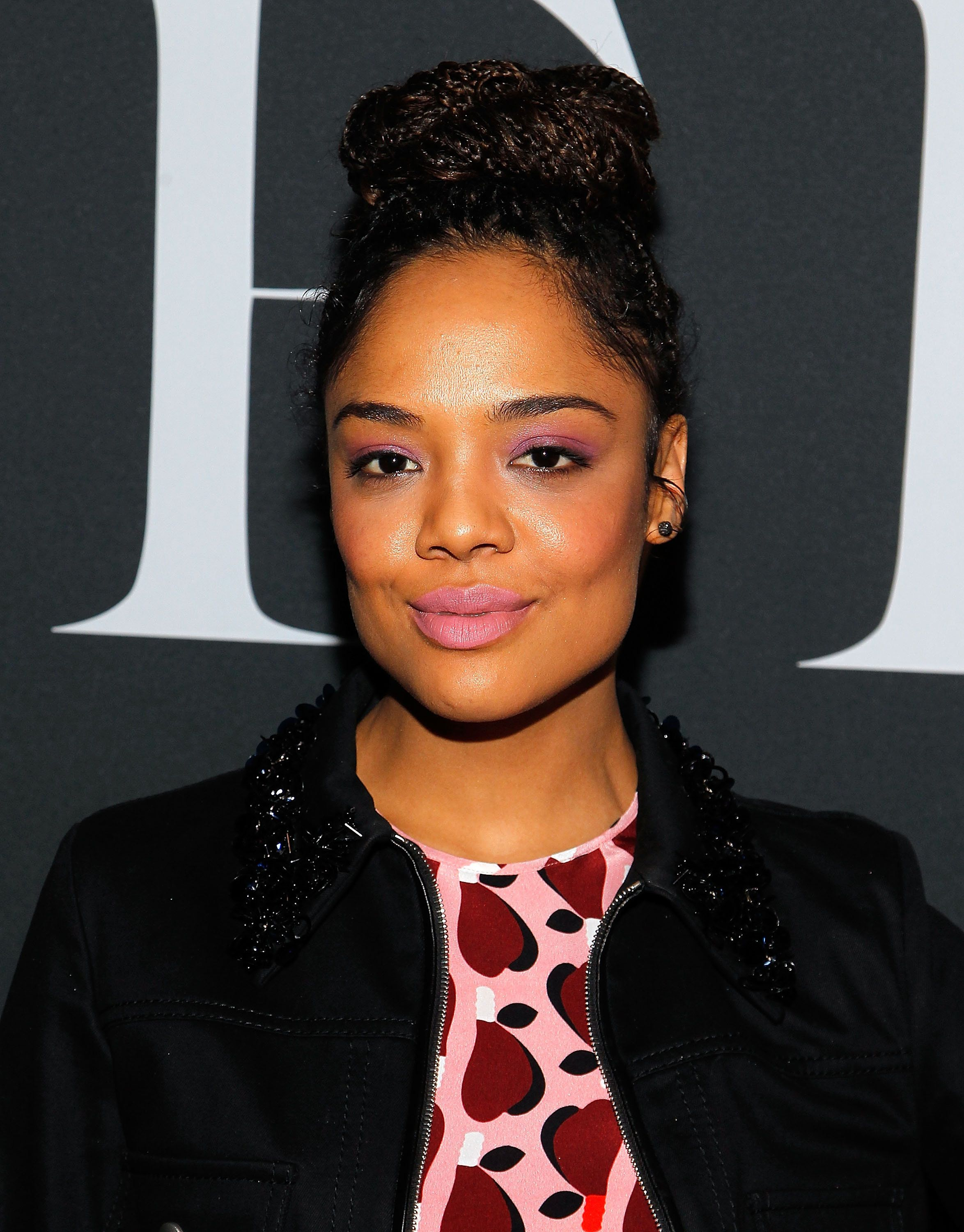 NEW YORK, NEW YORK - FEBRUARY 16:  Tessa Thompson attends the Miu Miu Tales 11 screening event during New York Fashion Week at EN Japanese Brasserie on February 16, 2016 in New York City.  (Photo by Paul Morigi/Getty Images)