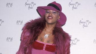 LOS ANGELES - JANUARY 17:   Rapper Eve attends the 27th Annual American Music Awards on January 17, 2000 at the Shrine Auditorium in Los Angeles, California. (Photo by Ron Galella, Ltd./WireImage)