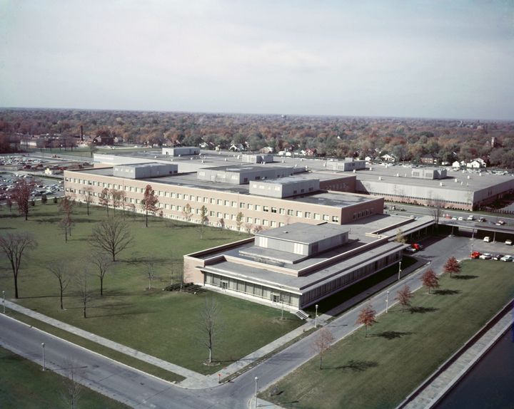 Ford Research and Engineering Center, 1961.