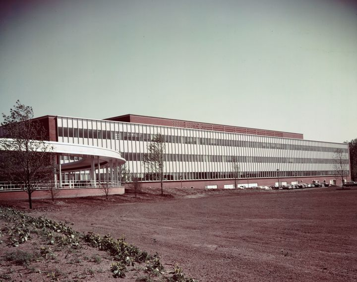 Ford Dearborn Product Engineering building, 1958.