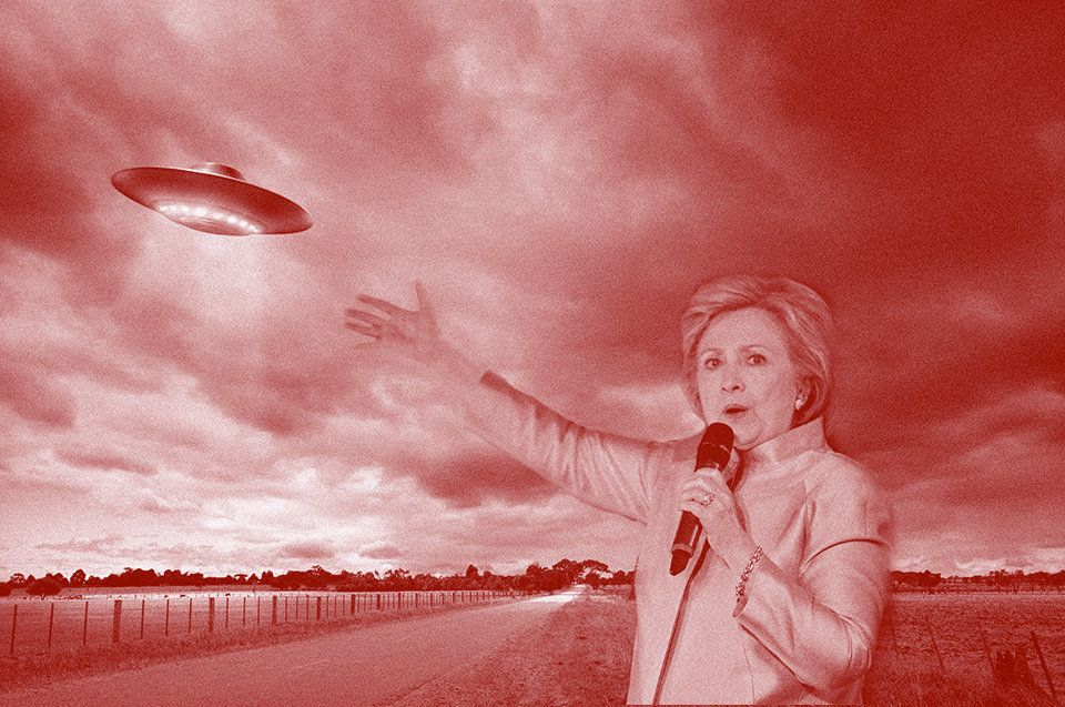 If Hillary Clinton becomes the next American president, will she keep her promise to find and declassify UFO government files