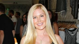 LOS ANGELES, CA - JULY 28:  Reality TV Personality Heidi Montag attends the US Launch of MeMe London at DiLascia on July 28, 2015 in Los Angeles, California.  (Photo by Paul Archuleta/FilmMagic)