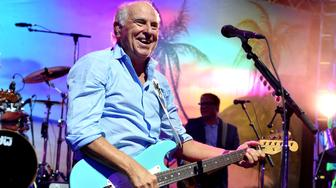 LOS ANGELES, CA - JUNE 09:  Musician Jimmy Buffett performs at the after party for the premiere of Universal Pictures' 'Jurassic World' at Hollywood & Highland on June 9, 2015 in Los Angeles, California.  (Photo by Kevin Winter/Getty Images)