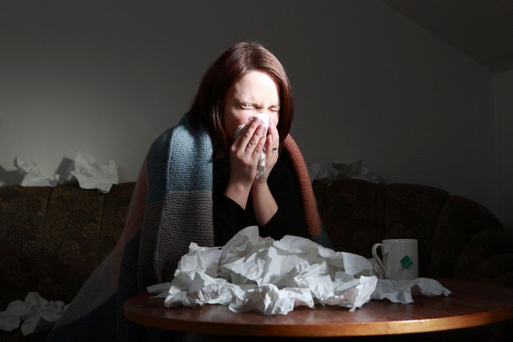 A new study found that people who sleep five hours or less a night were twice as likely to catch a cold than people who slept seven hours or more.