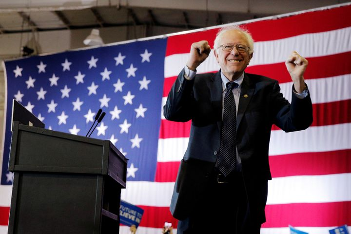 Sen. Bernie Sanders (I-Vt.) is trailing his presidential rival Hillary Clinton in both polls and delegate coun