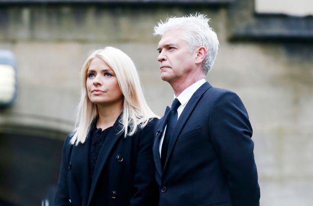 Holly Willoughby and Phillip Schofield presented Wednesday's 'This Morning' live from Sunderland
