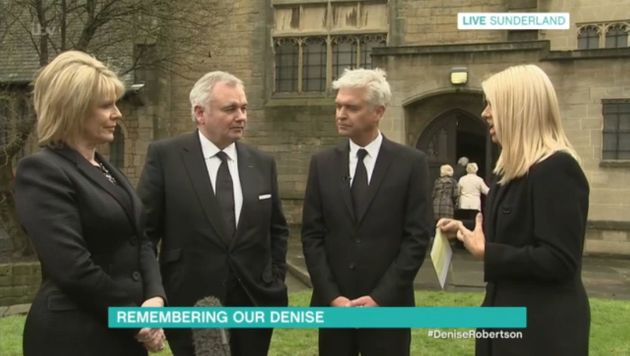 'This Morning' Hosts Holly Willoughby And Phillip Schofield Pay Tribute To Denise Robertson In Live Broadcast...