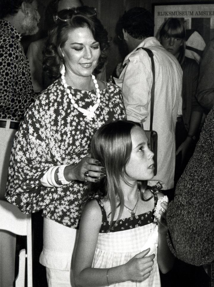Natalie Wood and Daughter Natasha during Jean Jacques Annaud File Photos in Los Angeles, California, United States.