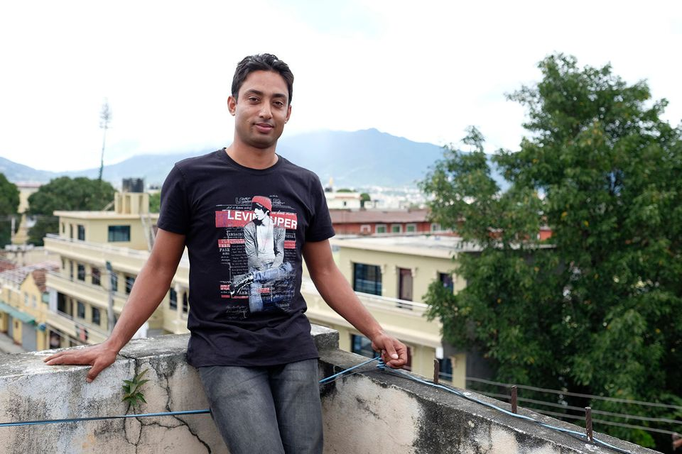 Janak Bishowkarma is a 28-year-old from Sindhuli