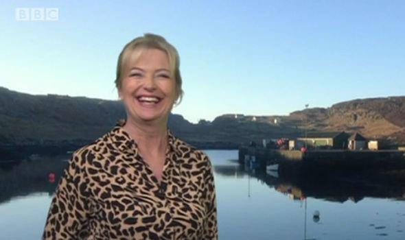Carol Kirkwood on 'BBC