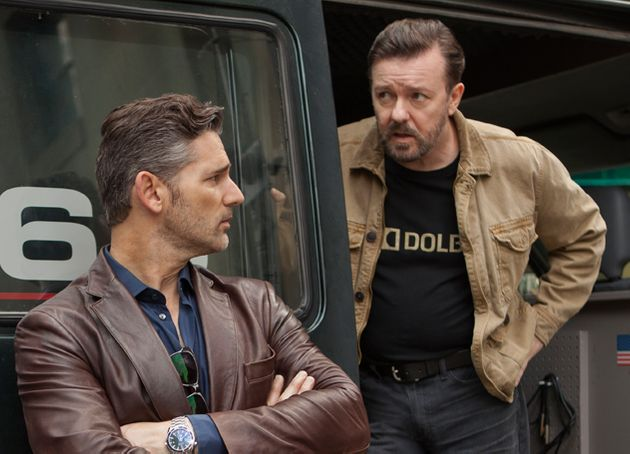 Ricky stars with Eric Bana in 'Special Correspondents', out this month on