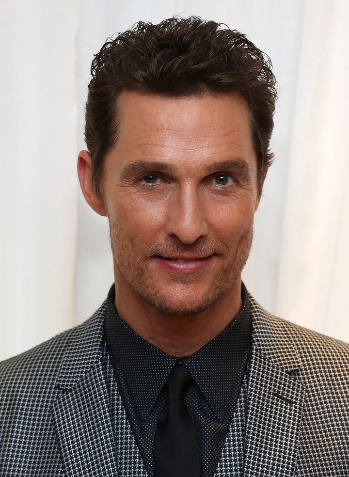 Matthew McConaughey in 2014.