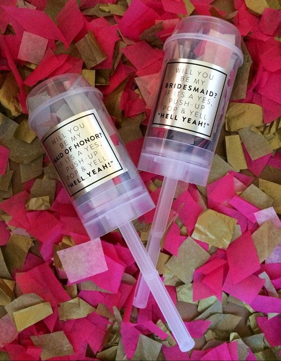 Or get things poppin' with confetti poppers.