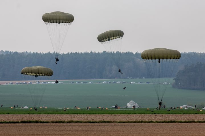 The incident comes as NATO plans its biggest build-up in eastern Europe to counter an increasingly aggressive Russia. Pa