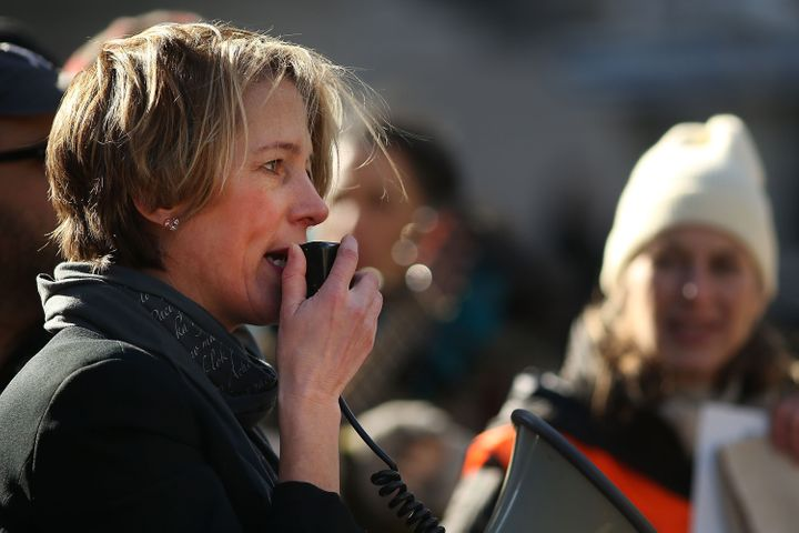 Zephyr Teachout, Democratic candidate for New York's 19th congressional district, was endorsed by Bernie Sanders on Wednesday