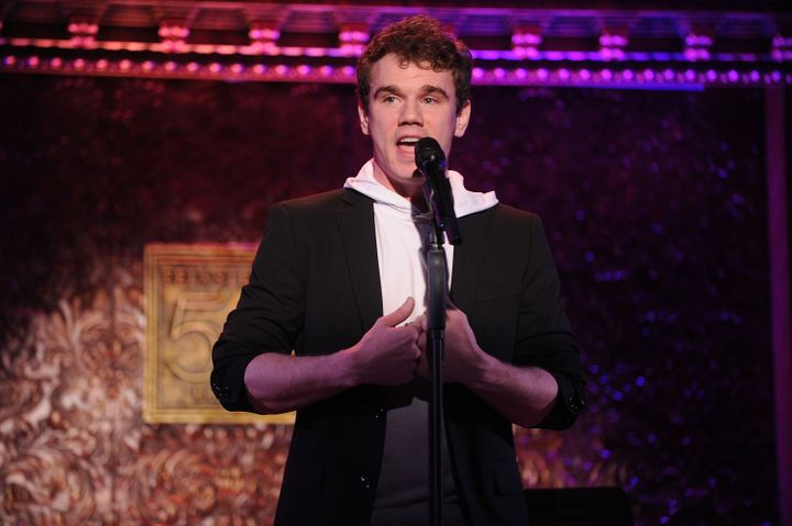 "Actor Jay Armstrong Johnson calls his new cabaret show his ""biggest undertaking personally."""