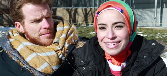 Mona Haydar and her husband Sebastian Robins currently live in Duxbury, Massachusetts.