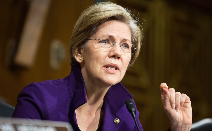 Sen. Elizabeth Warren didn't mention Paul Krugman by name, but it seemed she was referring to the liberal economist when she