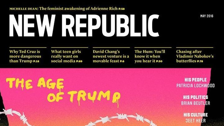 New Republic Editor-in-Chief Gabriel Snyder is leaving the magazine.