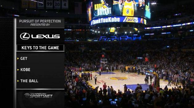 Kobe Bryant Says Goodbye To The NBA In Most Kobe Way