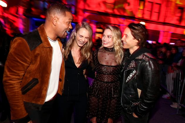 Will, Cara Delevingne, Margot and Jared have clearly put the parcelsbehind