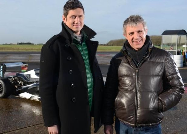 Vernon's co-host Jason Plato, right, has been praised by