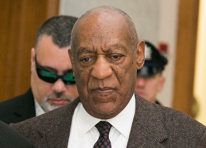 Bill Cosby arrives for the second day of hearings at the Montgomery County Courthouse in Norristown, Pennsylvania February 3,