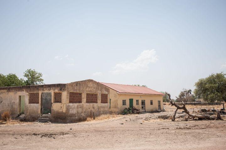 Thisphoto showsthe Government Girls Secondary School, where the girls were kidnapped. Amnesty International estim