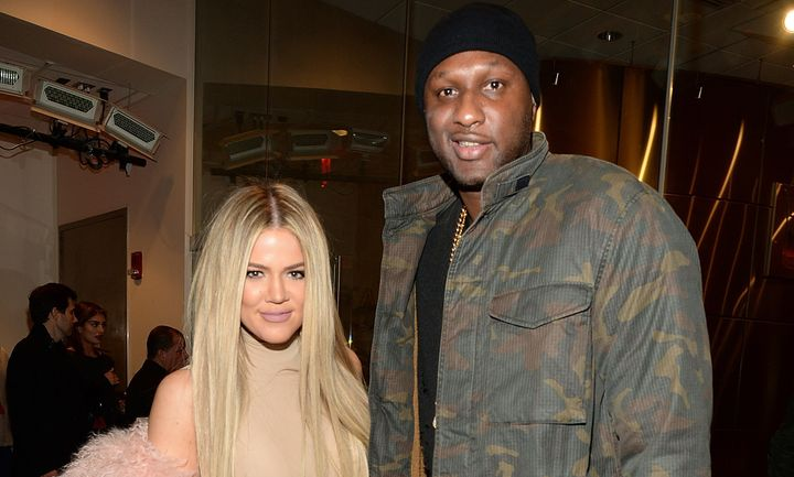 hloe Kardashian and Lamar Odom attend Kanye West Yeezy Season 3 at Madison Square Garden on Feb. 11, 2016 in New York City.
