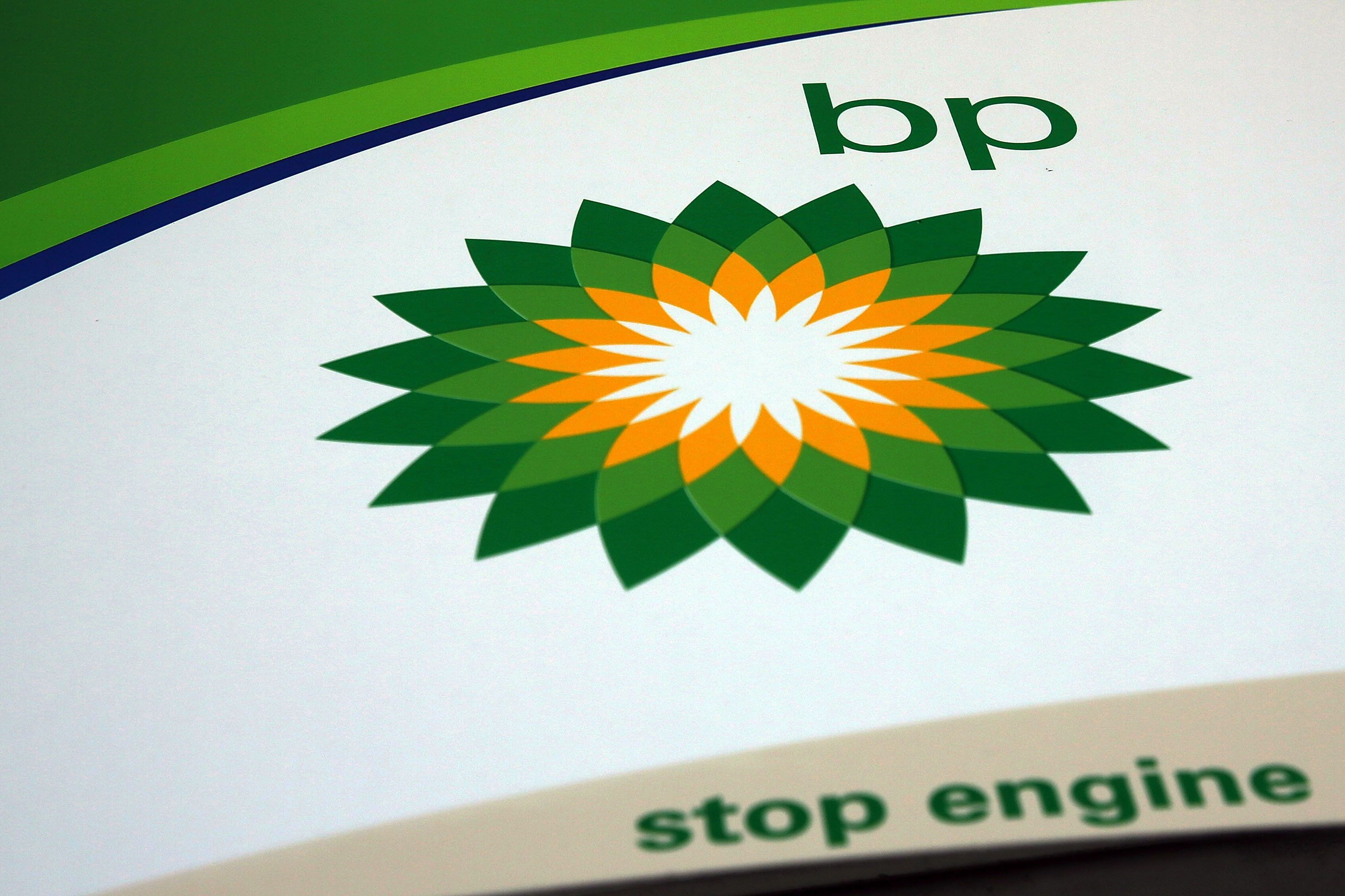 NEW YORK, NY - FEBRUARY 02: A BP sign is viewed at a gas station in Brooklyn on February 2, 2016 in New York City.  The oil industry giant reported on Tuesday a $3.3 billion fourth-quarter loss as oil prices continue to fall globally.  (Photo by Spencer Platt/Getty Images)