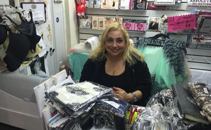 Staten Island business owner Linda Vinciguerra agrees Trump has a mouth on him, but that's OK.