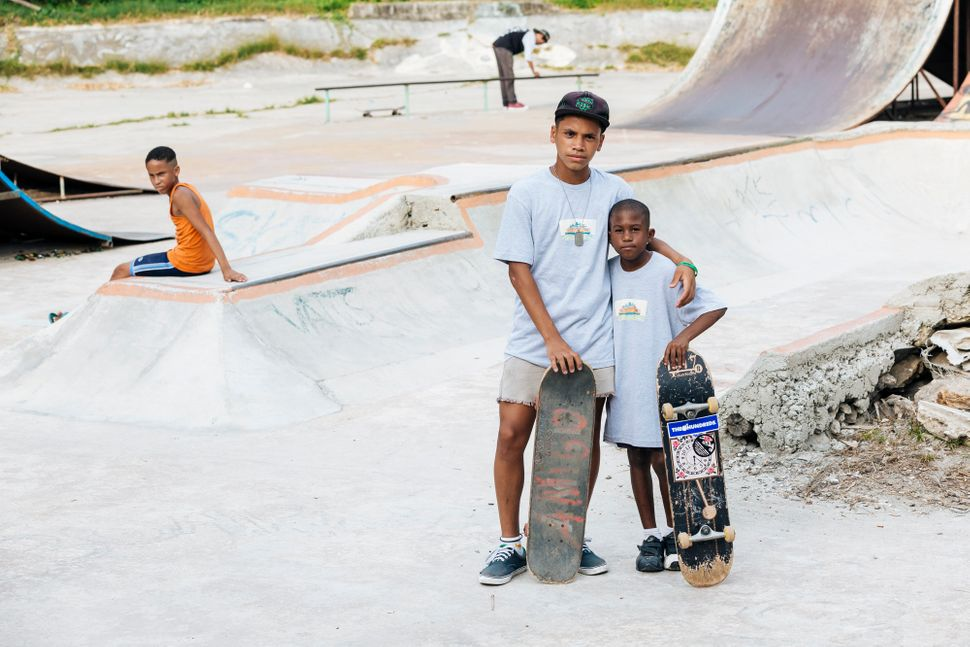 "Kids at the skate park wearing donated <a href=""http://www.richmondhood.com/"">Richmond Hood</a> tee-shirts. (All Ph"