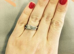 17 Women Who Don't Care What You Think About Their 'Tiny' Wedding Rings