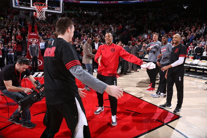 """I was always thinking NBA,"" McCollum tells The Huffington Post."